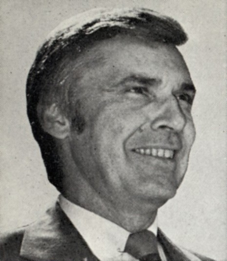 Congressman Leo Ryan, who was shot and killed on Jones' orders as he and others attempted to leave Jonestown, Guyana in 1978.