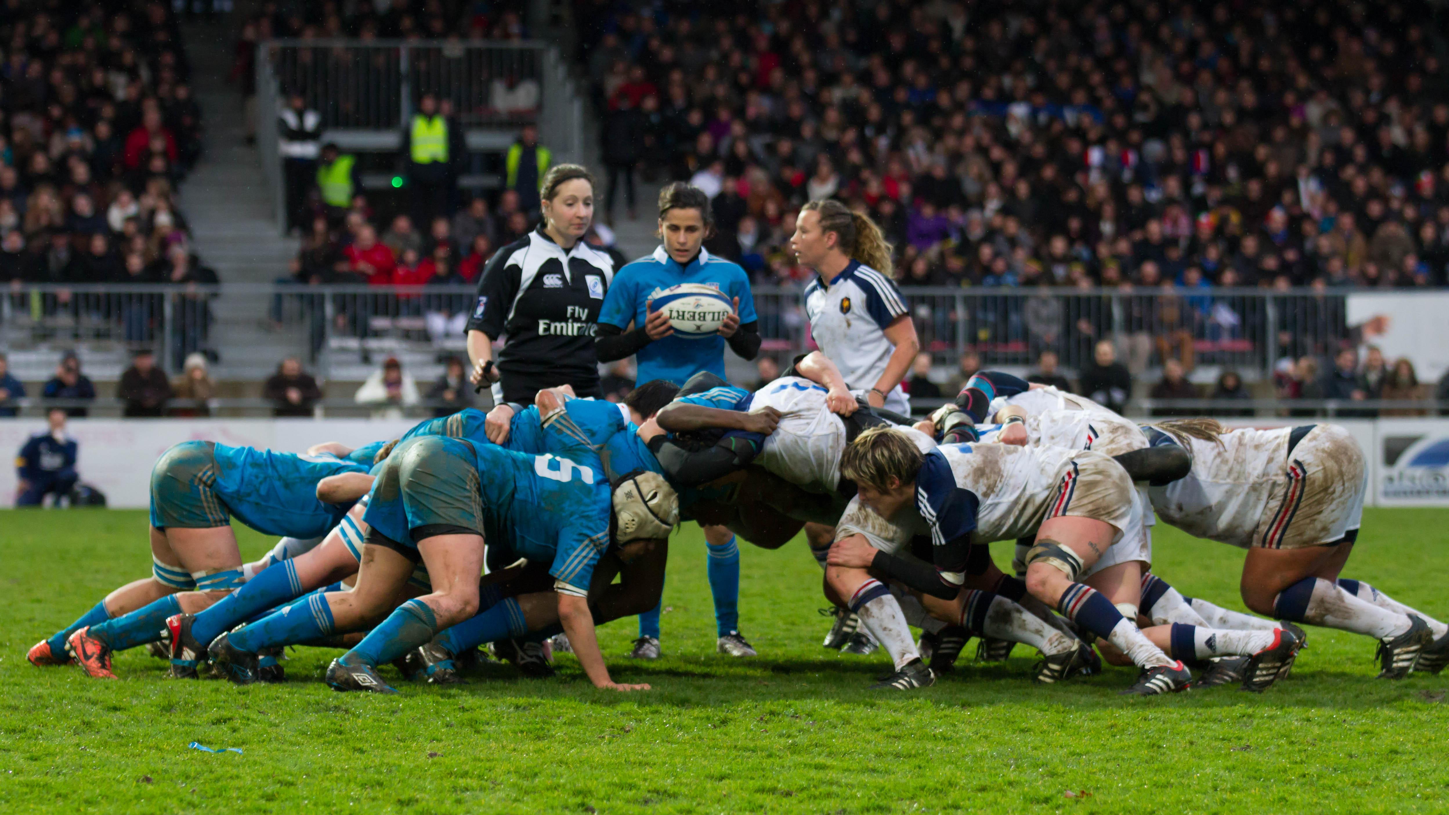 Scrum (rugby) - Wikipedia, la enciclopedia libre