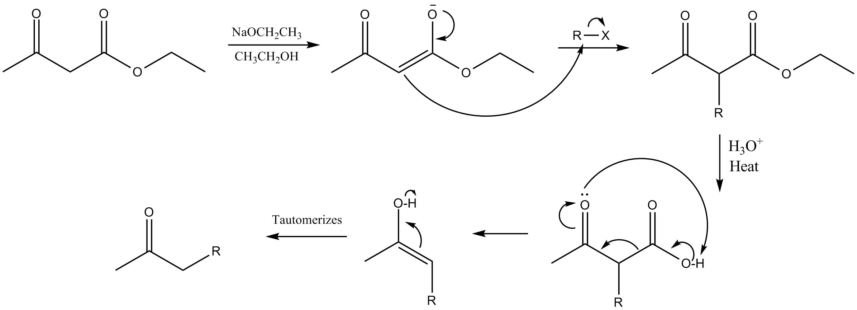 File Acetoacetic Ester Mechanism Png
