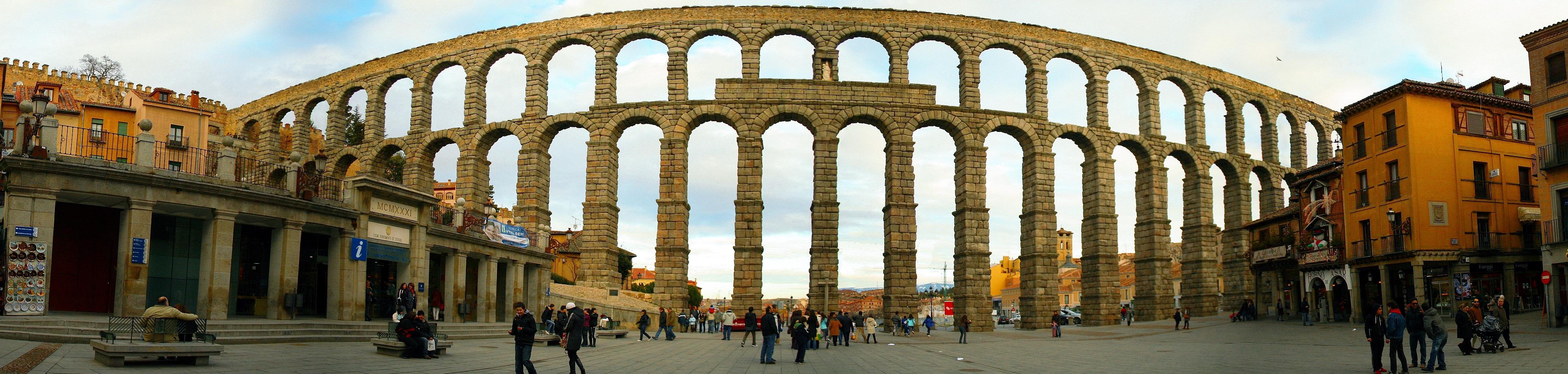 AcueductoSegovia Segovia, más que un acueducto.