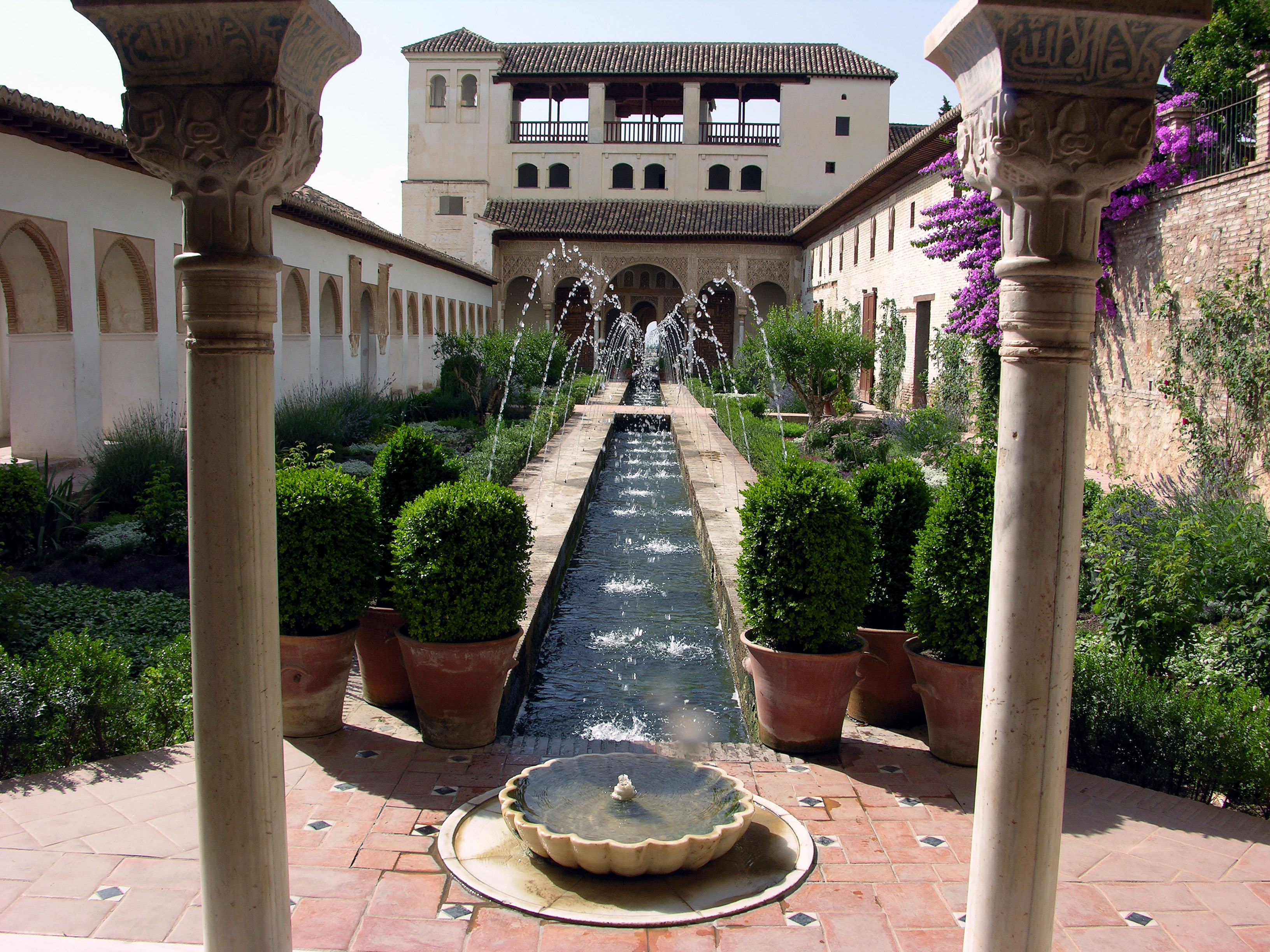 Image result for islamic spain gardens Andalusia