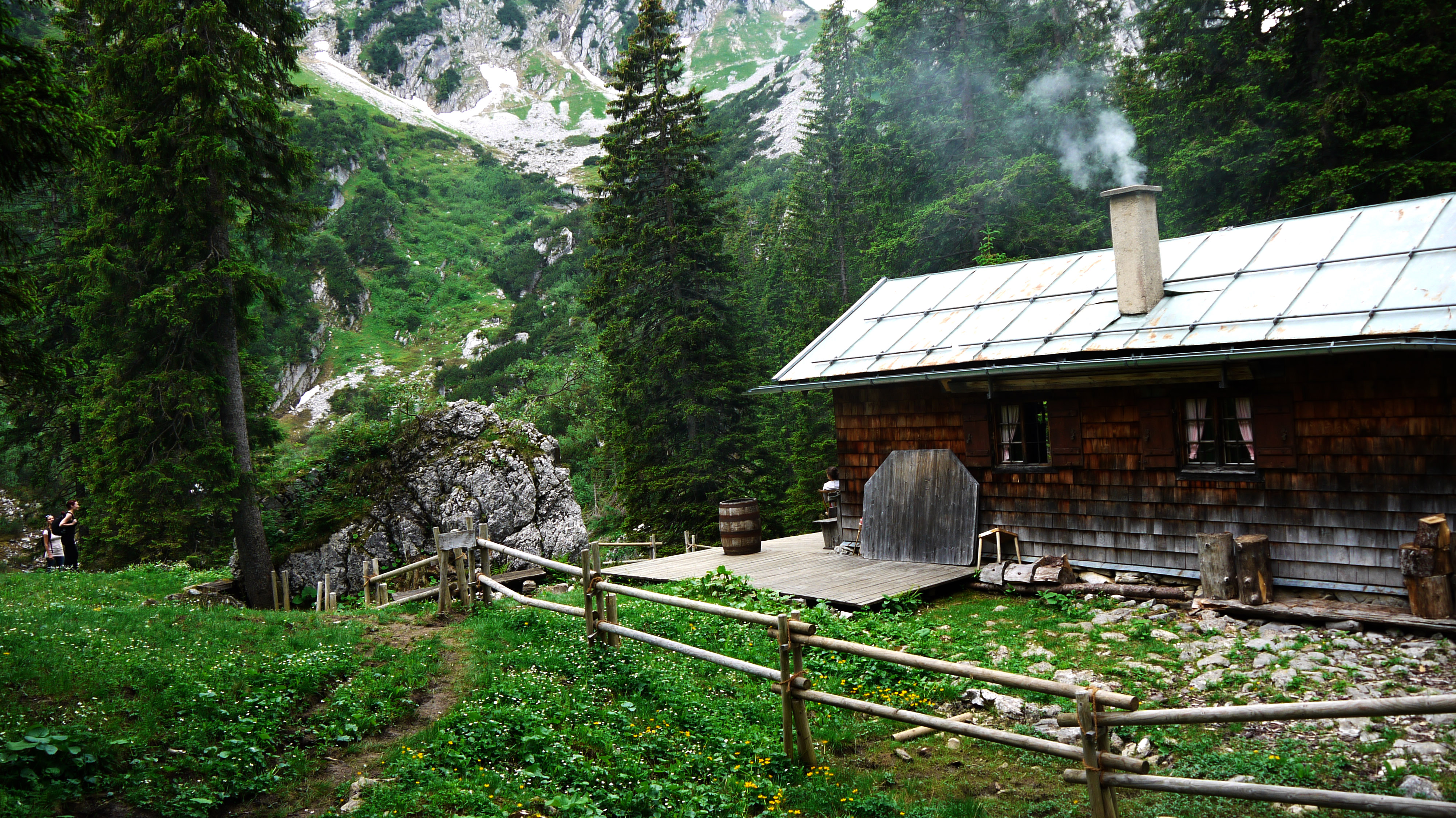 File Alpine Cabin Chalet Near Riederecksee Risserkogel