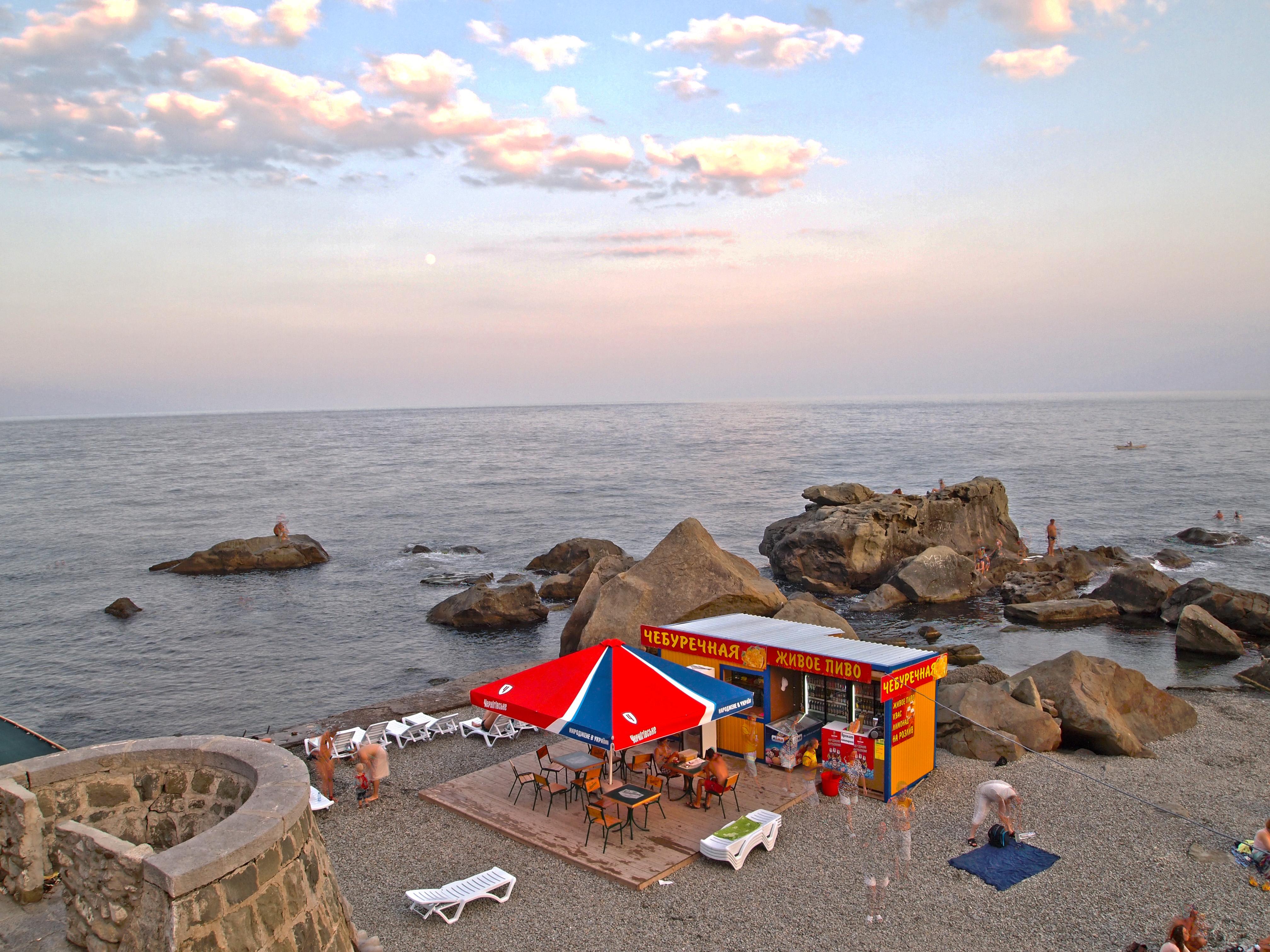 Поселок Джемете пляжи и отдых