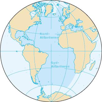 kart over indiahavet Atlanterhavet – Wikipedia kart over indiahavet
