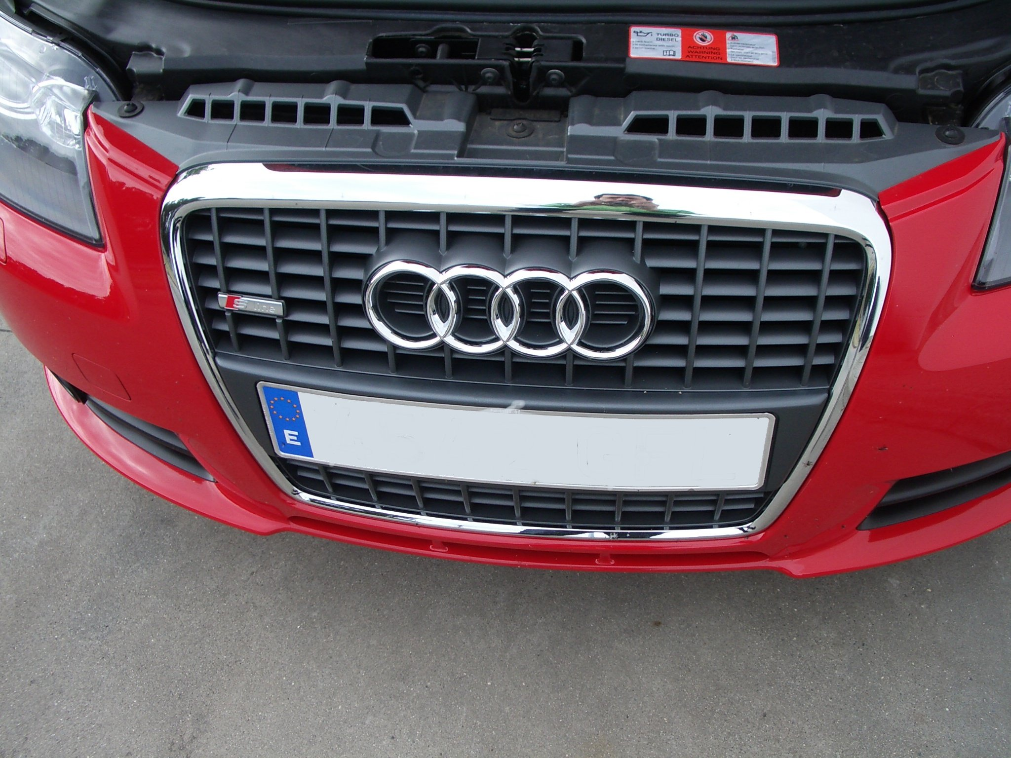 File:Audi a3 sline frontal.JPG - Wikimedia Commons: https://commons.wikimedia.org/wiki/File:Audi_a3_sline_frontal.JPG