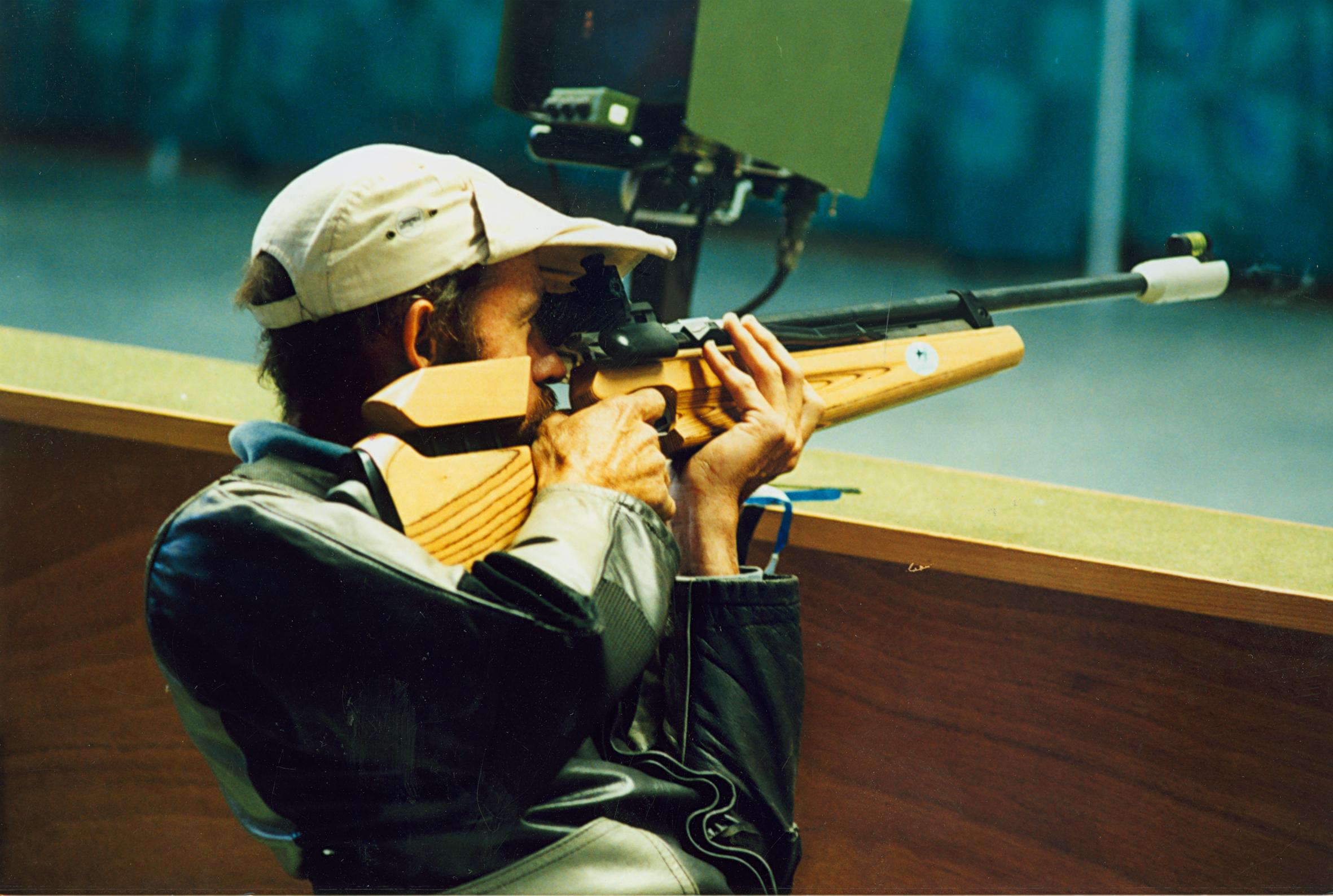 Ashley Adams Wikipedia file:australian paralympic shooter, ashley adams shoots