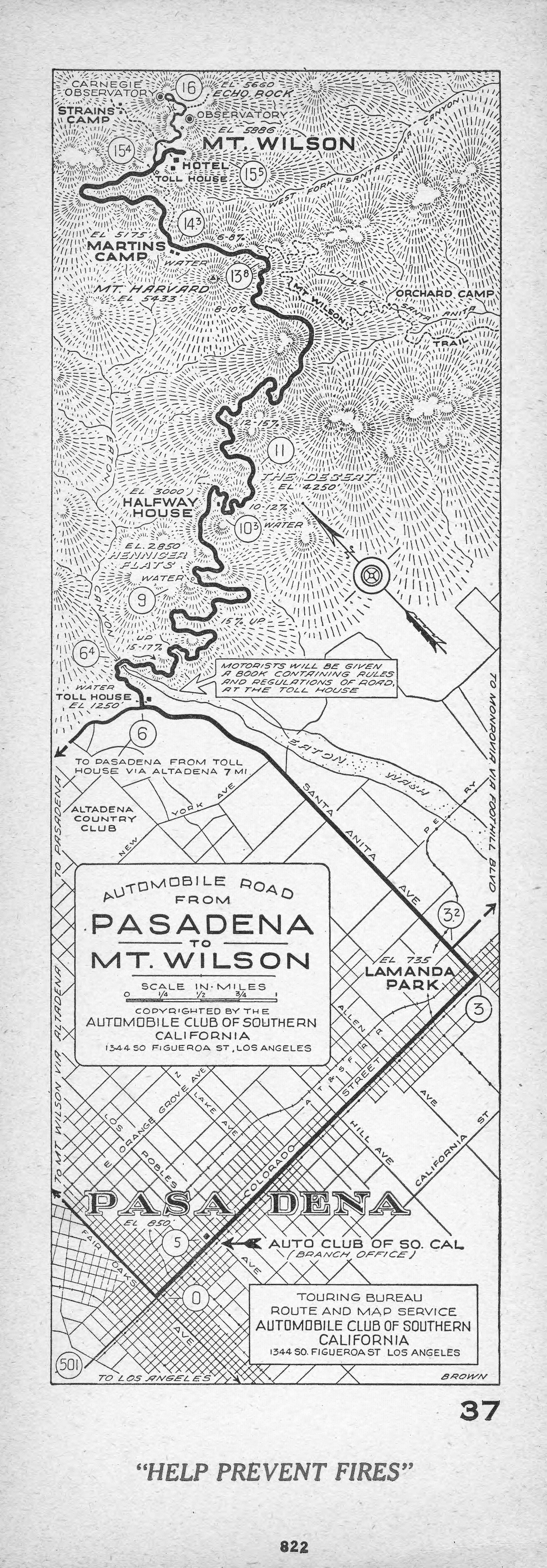 File:Automobile Road From Pasadena To Mount Wilson, 1922 (AAA SM