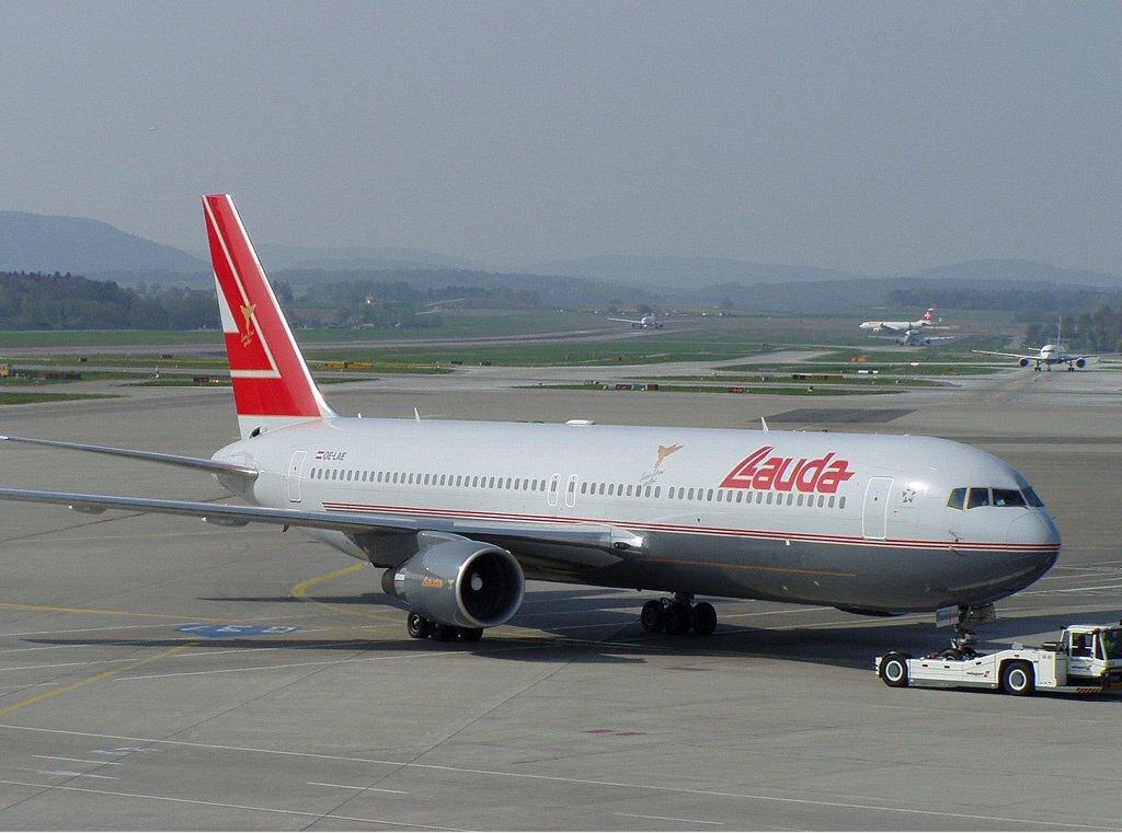 Boeing 767-3Z9-ER Lauda Air ZRH.jpg