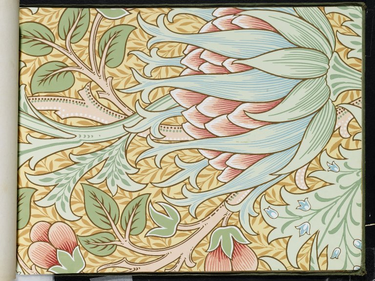 Brooklyn Museum - Wallpaper Sample Book 1 - William Morris and Company - page110