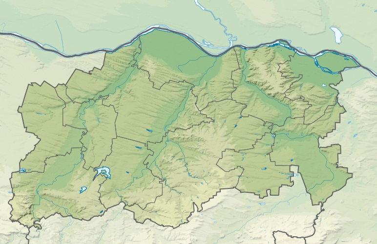 Файл:Bulgaria Pleven Province relief location map.jpg