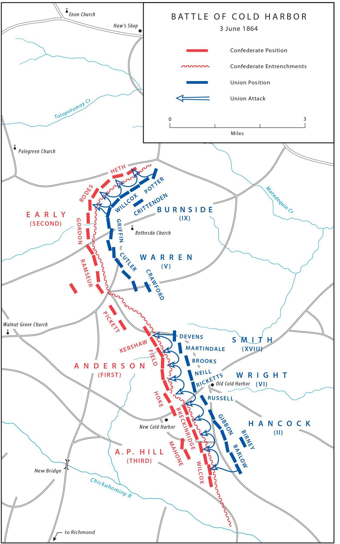 account of the battle of cold harbor Old myths die hard at cold harbor but i do know that i have routinely encountered the representation that cold harbor was a battle nothing in either account.