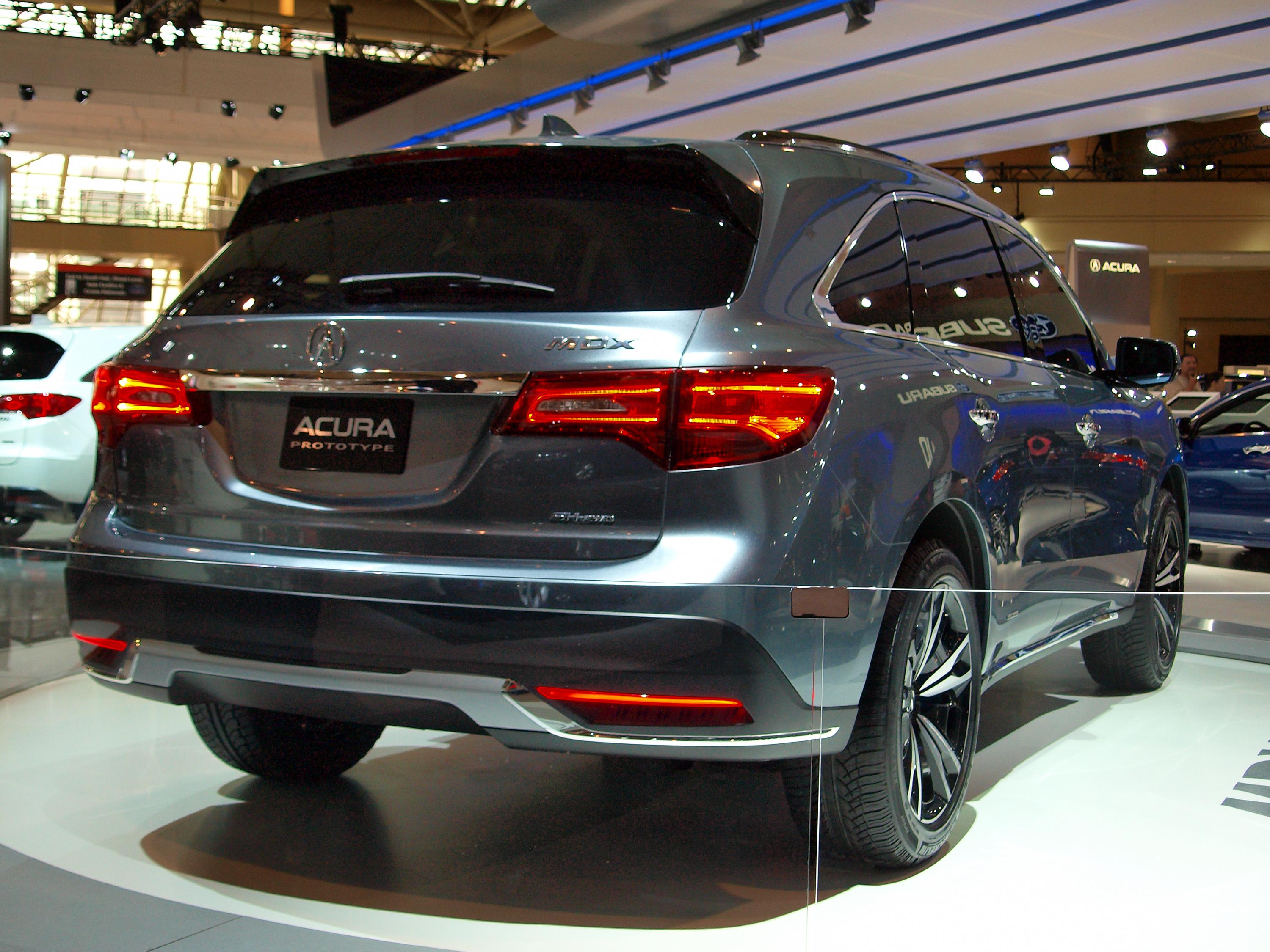 and elite show acura walkaround interior auto exterior mdx montreal watch