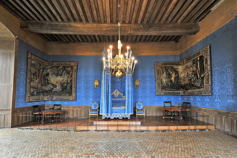 Decoration Simple Chambre Fille :  de SullysurLoire Chambre à coucher 01jpg  Wikimedia Commons
