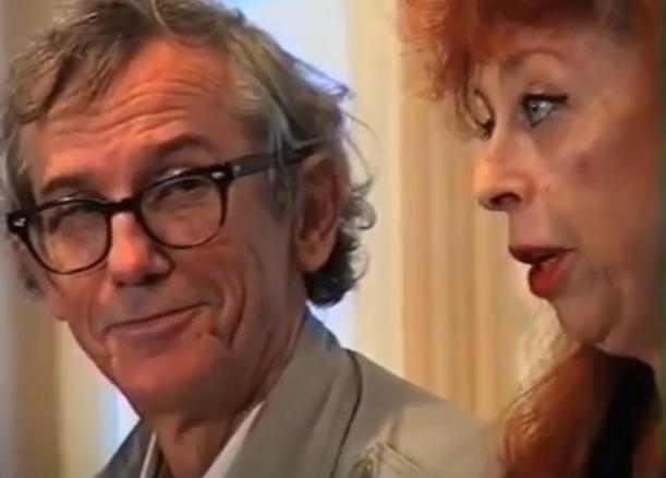 Christo en zijn vrouw Jeanne-Claude Denat de Guillebon (1995)
