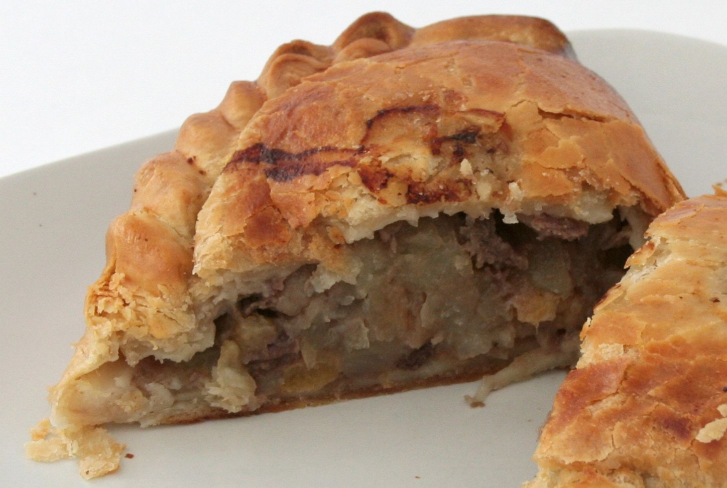 A Cornish pasty