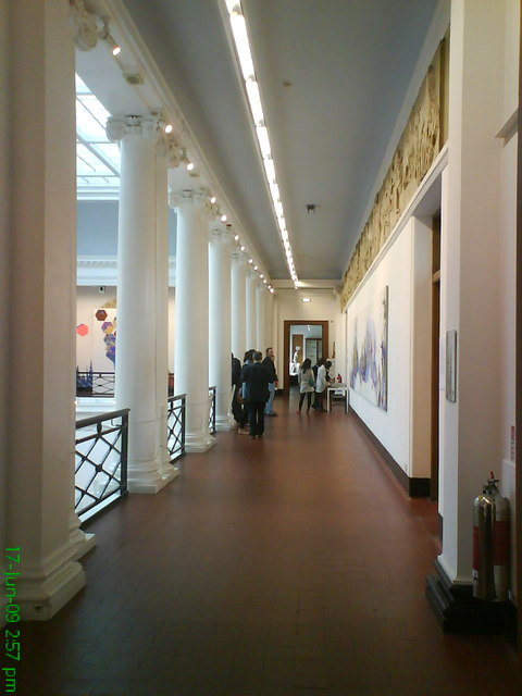 File Corridor Edinburgh College Of Art Geograph Org Uk 1469709 Jpg Wikimedia Commons