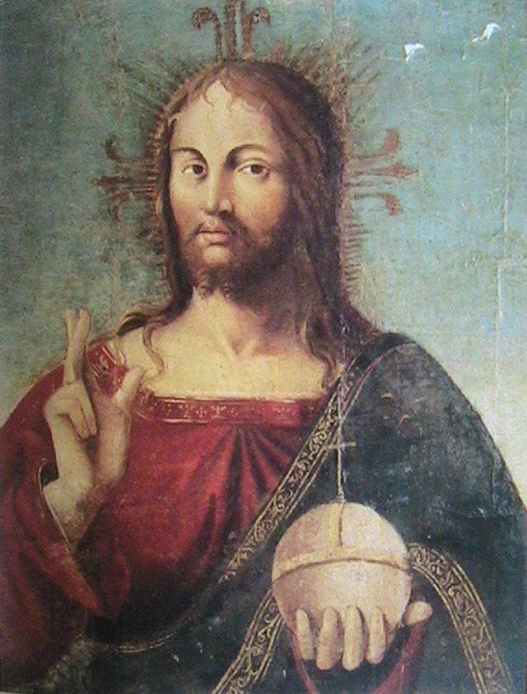 Salvator Mundi Da Messina >> Salvator Mundi – Wikipedia, wolna encyklopedia