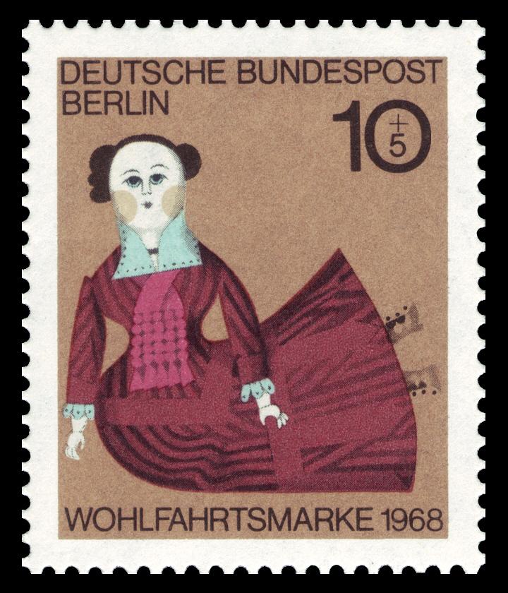 Briefmarken Jahrgang 1968 Der Deutschen Bundespost Berlin Wikiwand