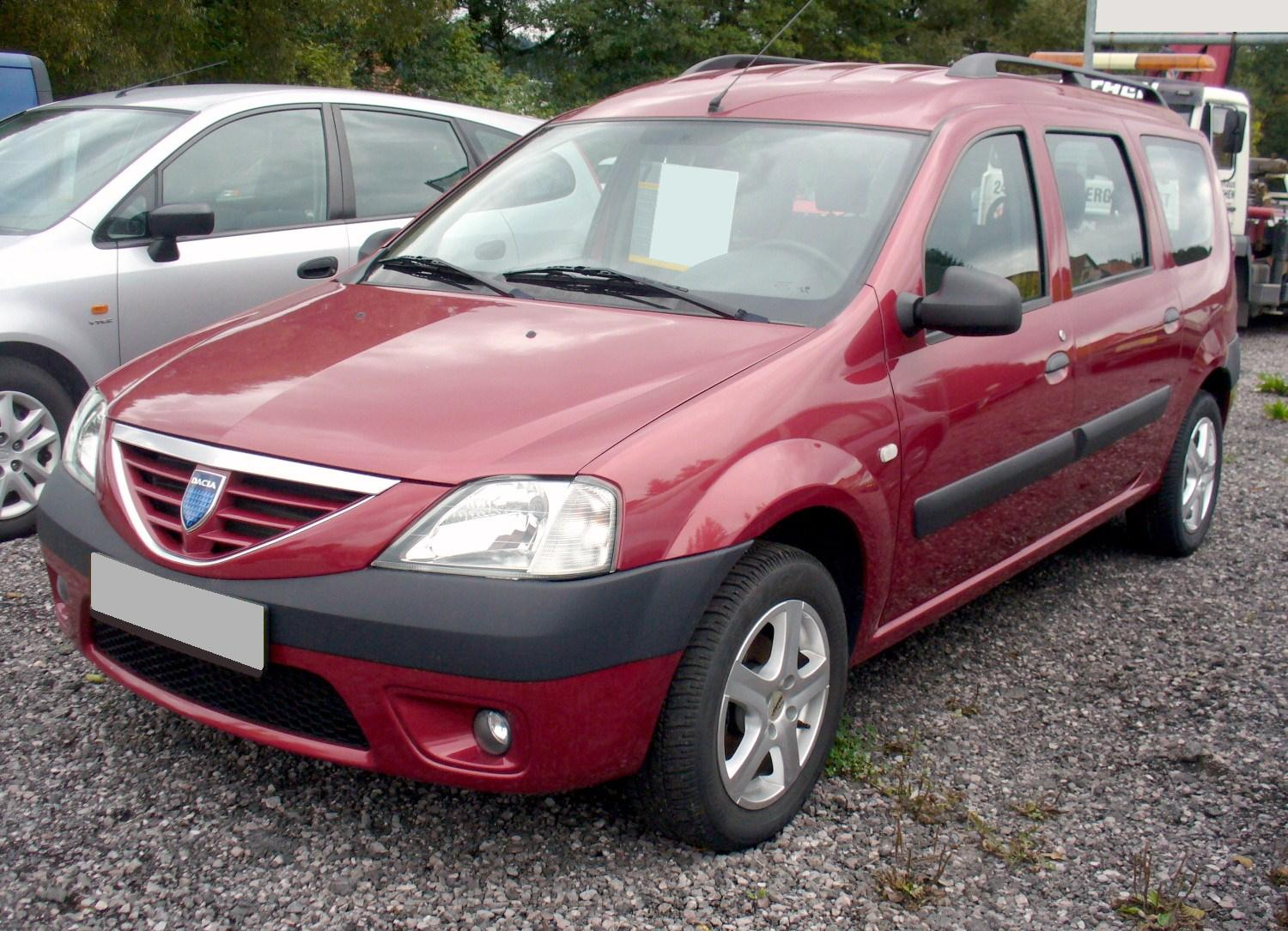 2006 dacia logan mcv 1 6 16v related infomation specifications weili automotive network. Black Bedroom Furniture Sets. Home Design Ideas