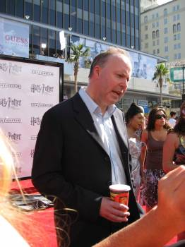 David Yates at Harry Potter LA Premiere