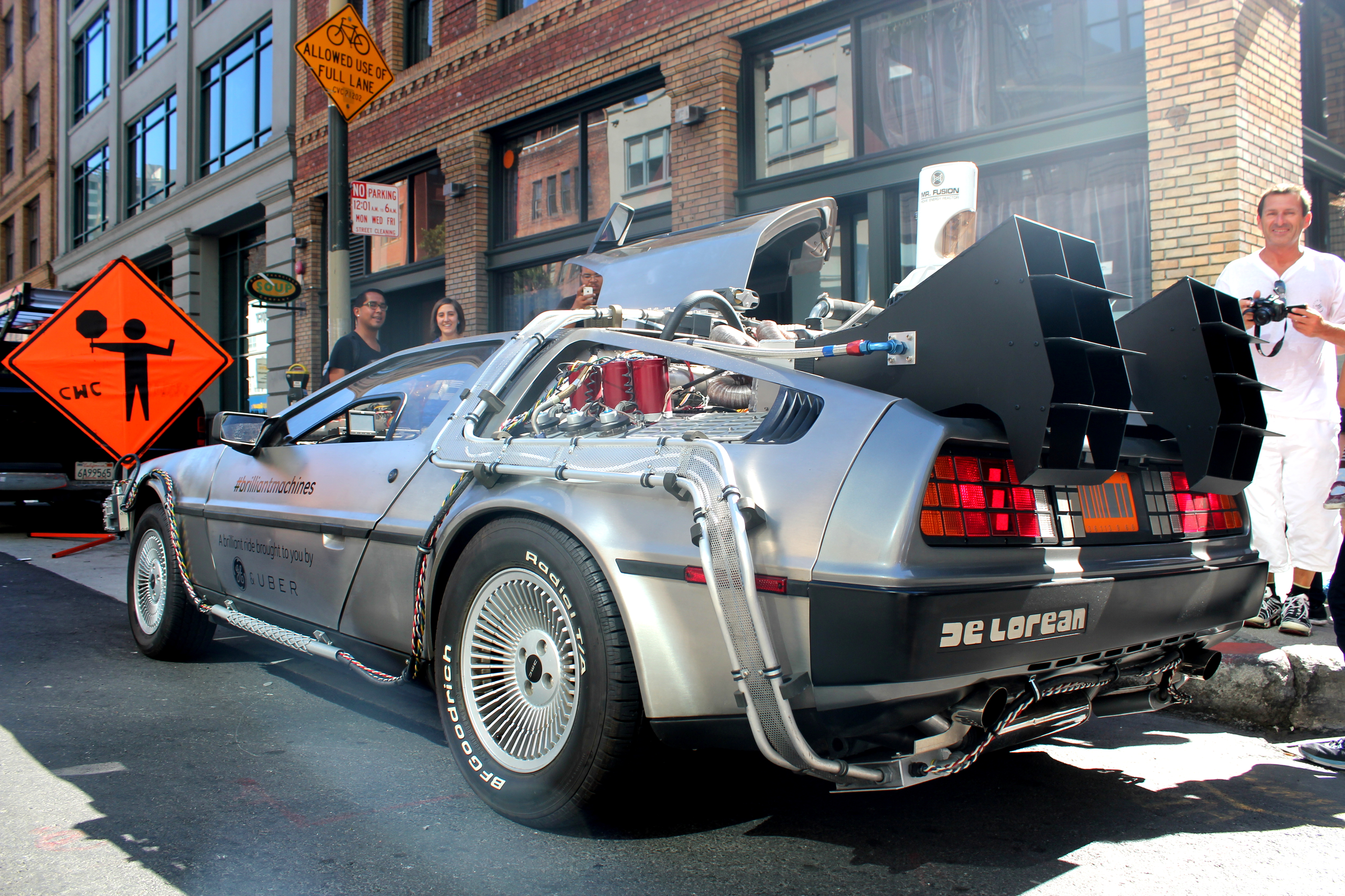 time machine cars