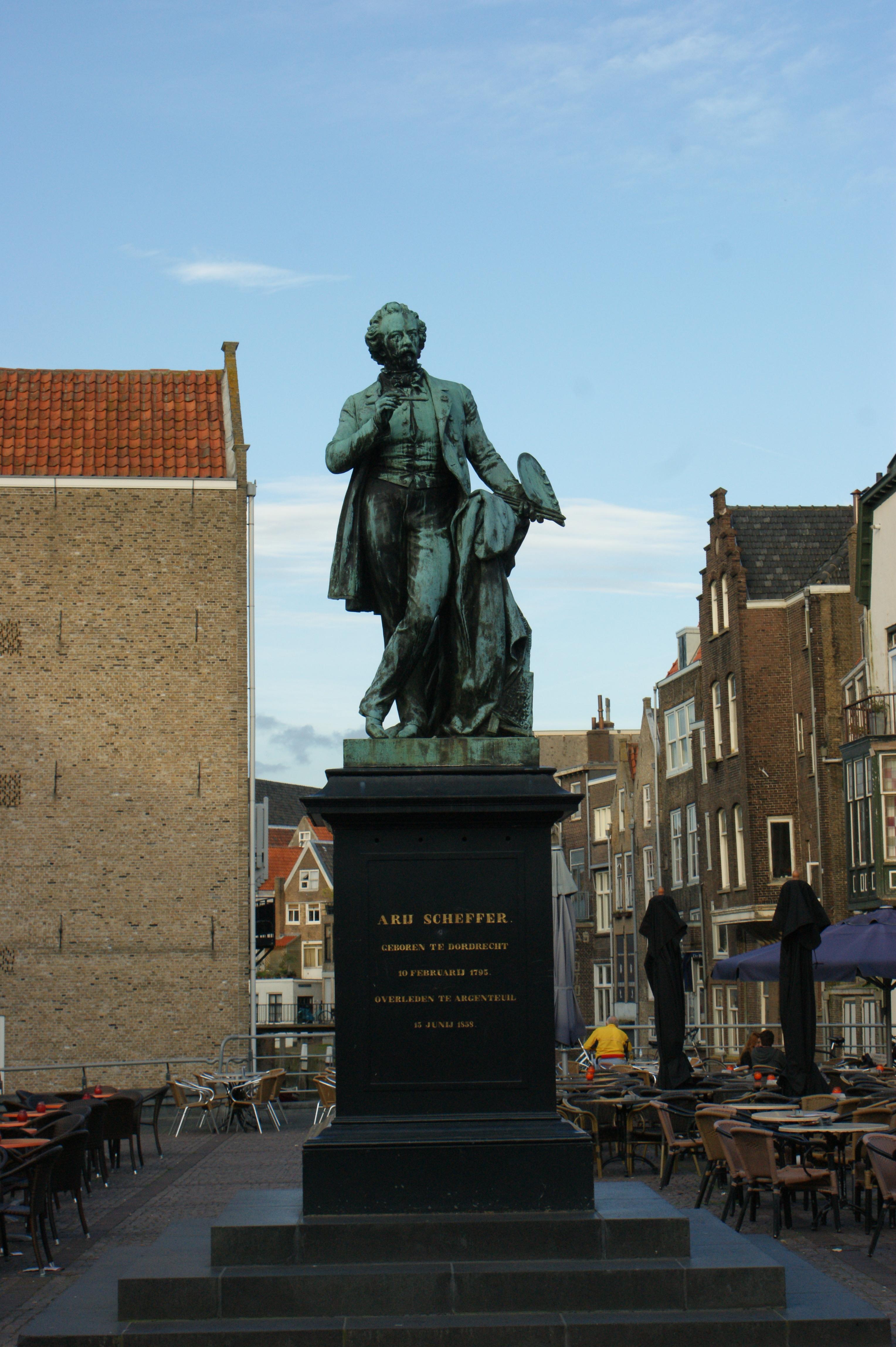 Standbeeld ary scheffer in dordrecht monument - Eigentijds standbeeldontwerp ...