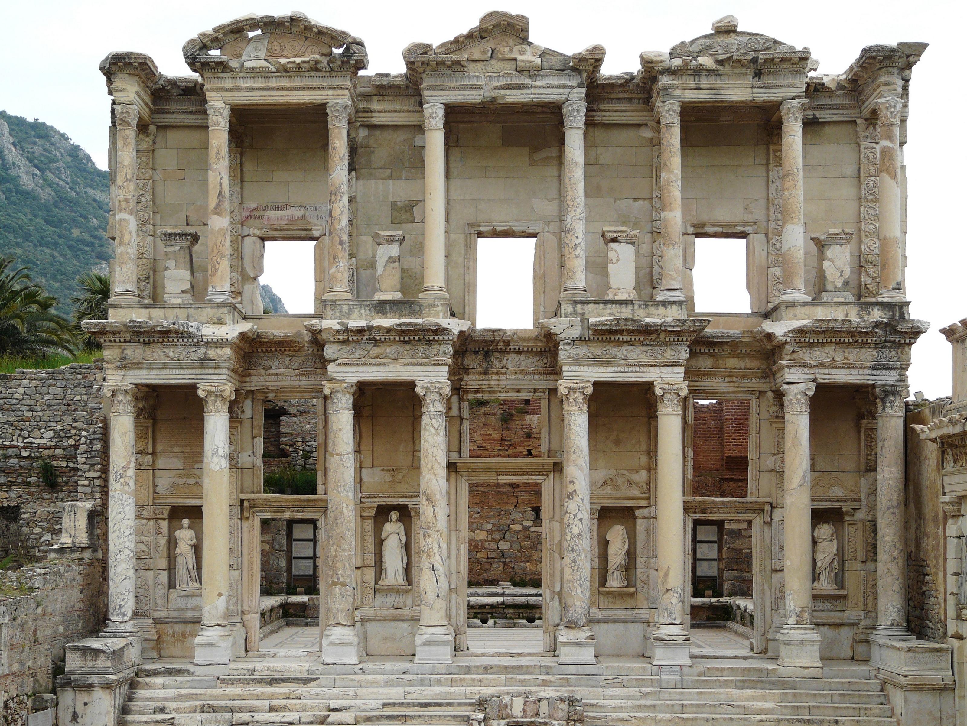 File:Ephesus Celsus library 2009 04 29.jpg - Wikimedia Commons