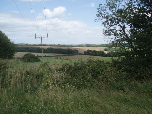 Farmland north of Stanmer Park - geograph.org.uk - 1425043