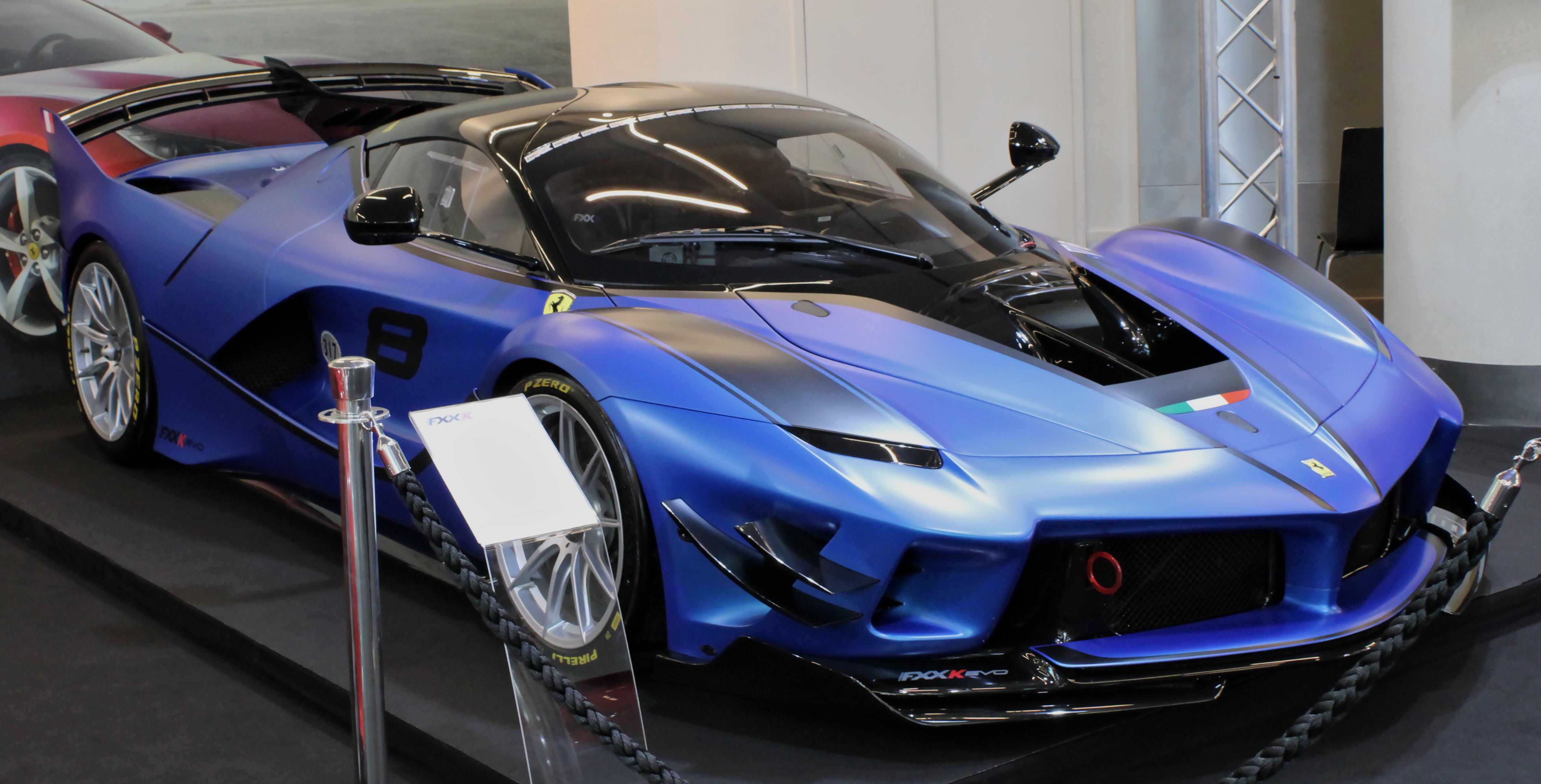 File Ferrari Fxx K Evo Top Marques 2019 Img 1042 Jpg Wikimedia Commons