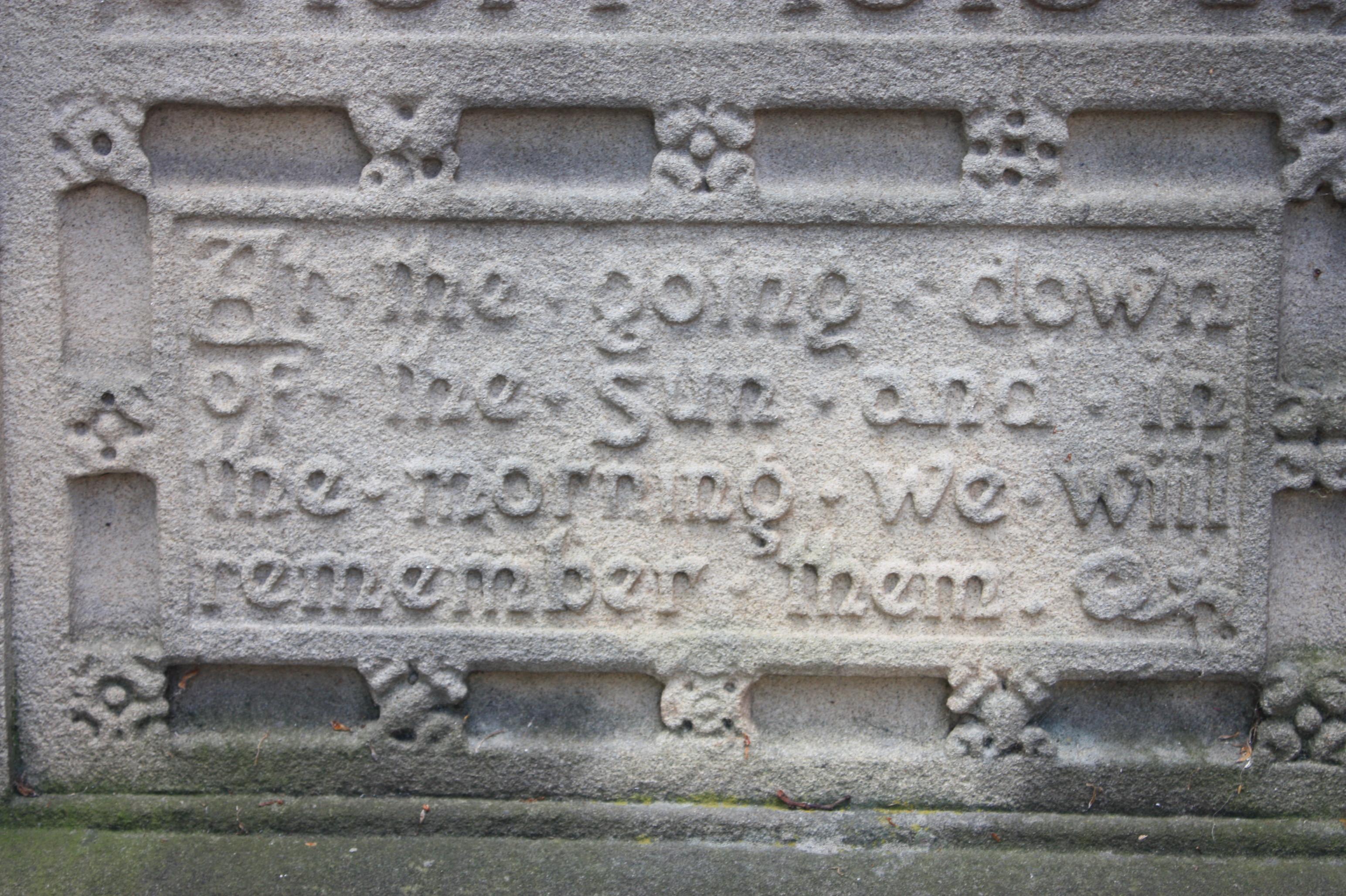 For the Fallen - Wikipedia