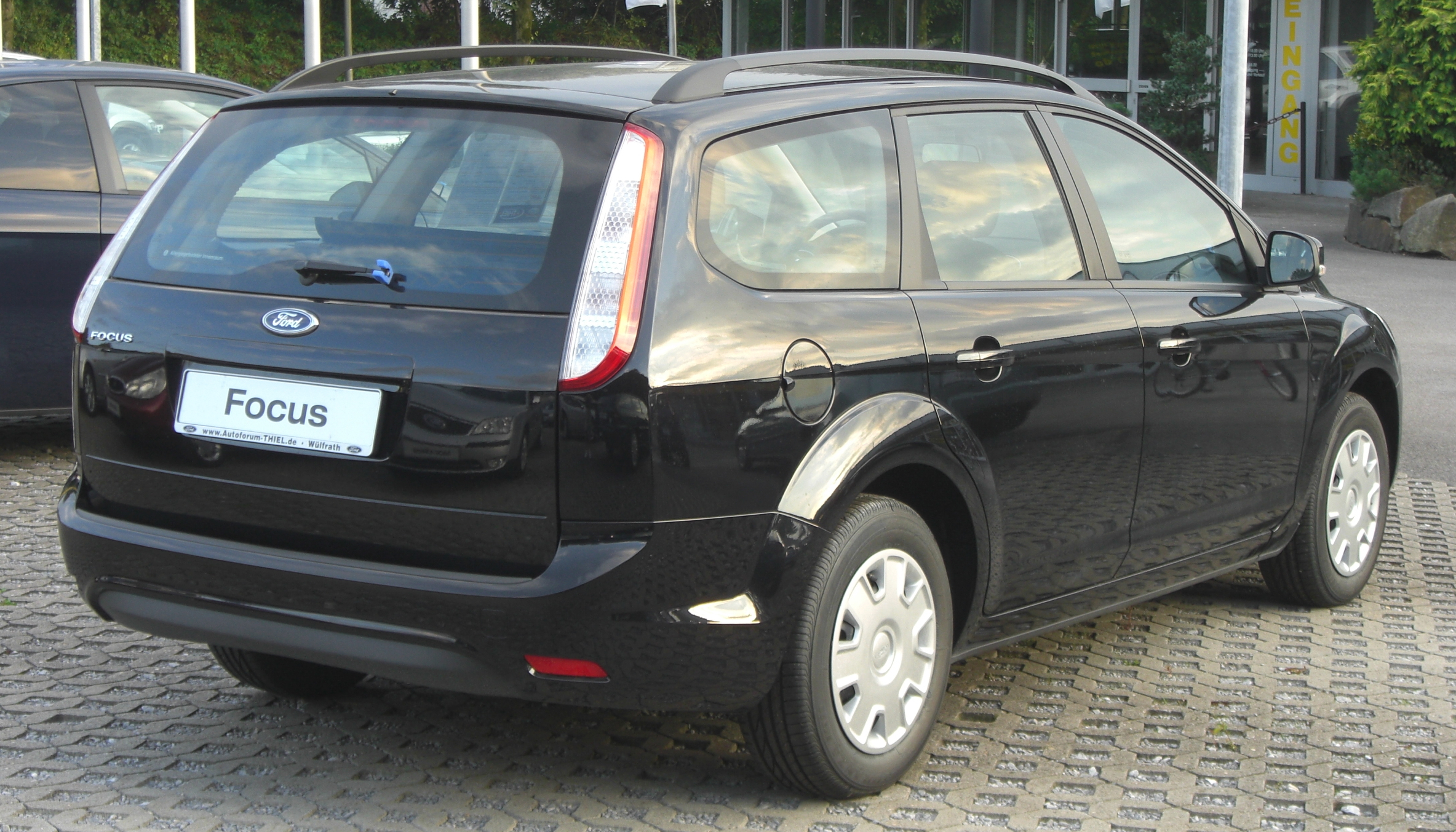 file ford focus turnier facelift rear jpg wikimedia commons. Black Bedroom Furniture Sets. Home Design Ideas
