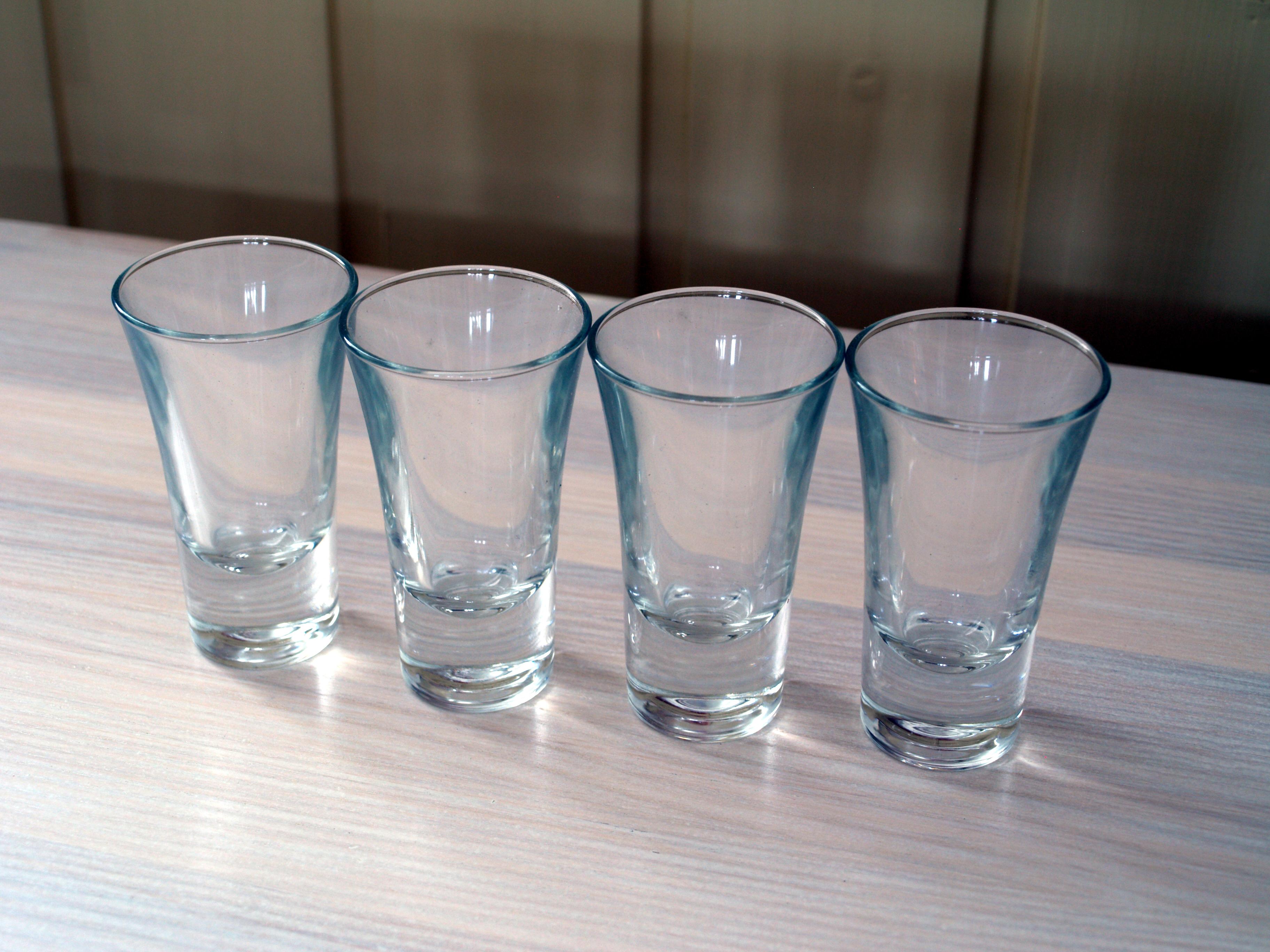 File:Four shot glasses.jpg - Wikimedia Commons