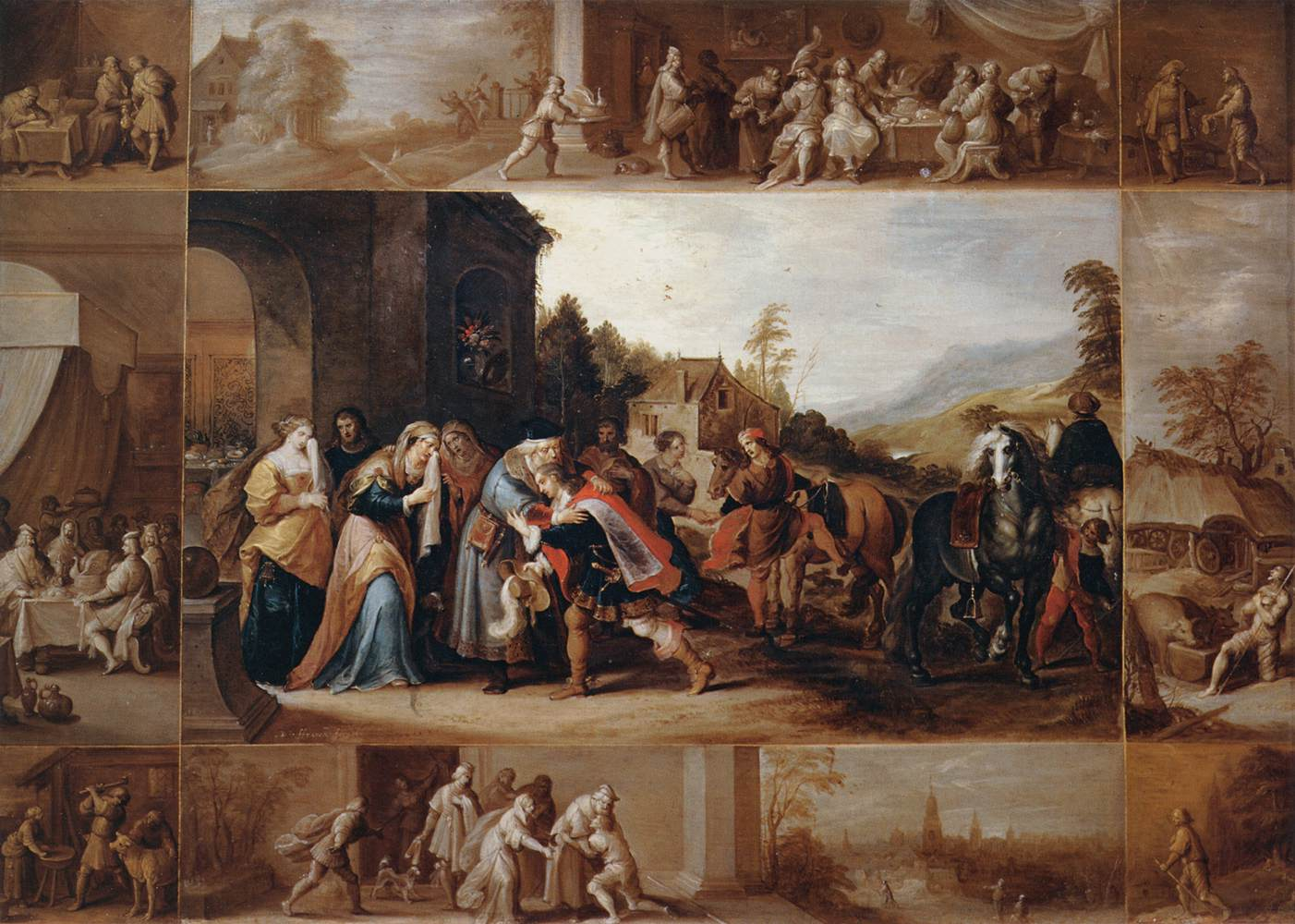 file frans francken ii the parable of the prodigal son wga8205