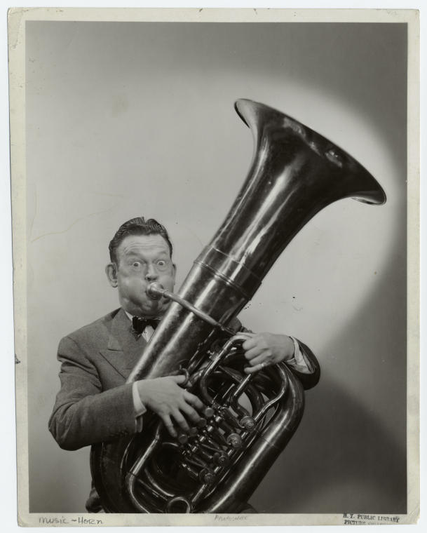 Image result for man playing a tuba pictures