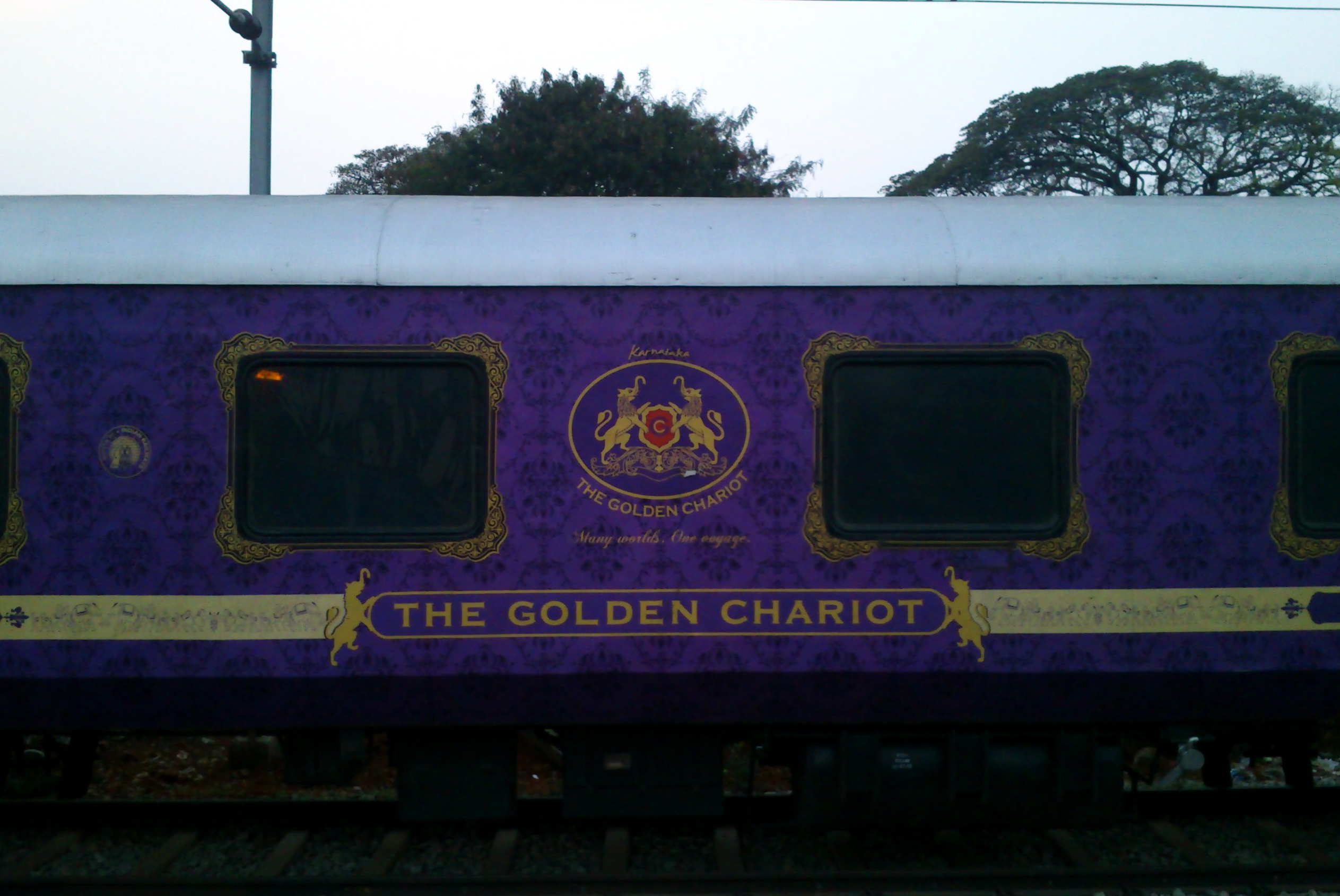Karnataka tourism department launches Dasara package on Golden Chariot