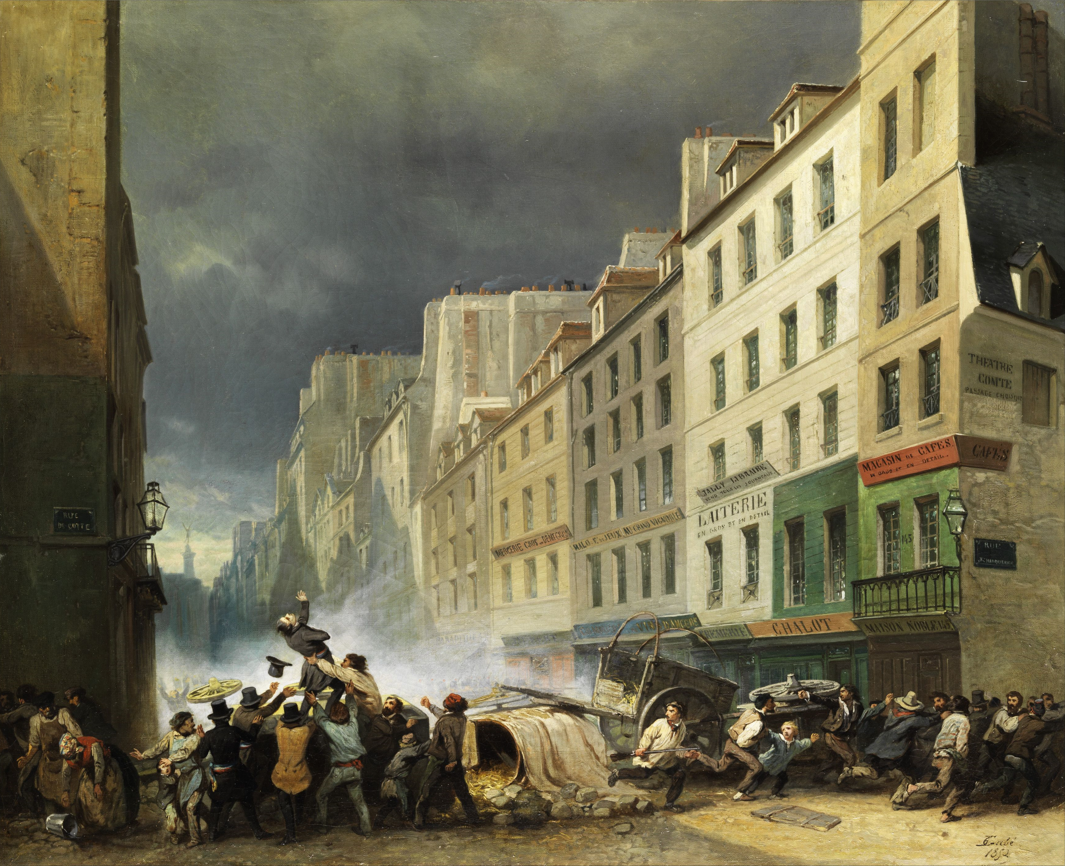 File:Gabé Paris revolution 1830 2.jpg - Wikimedia Commons