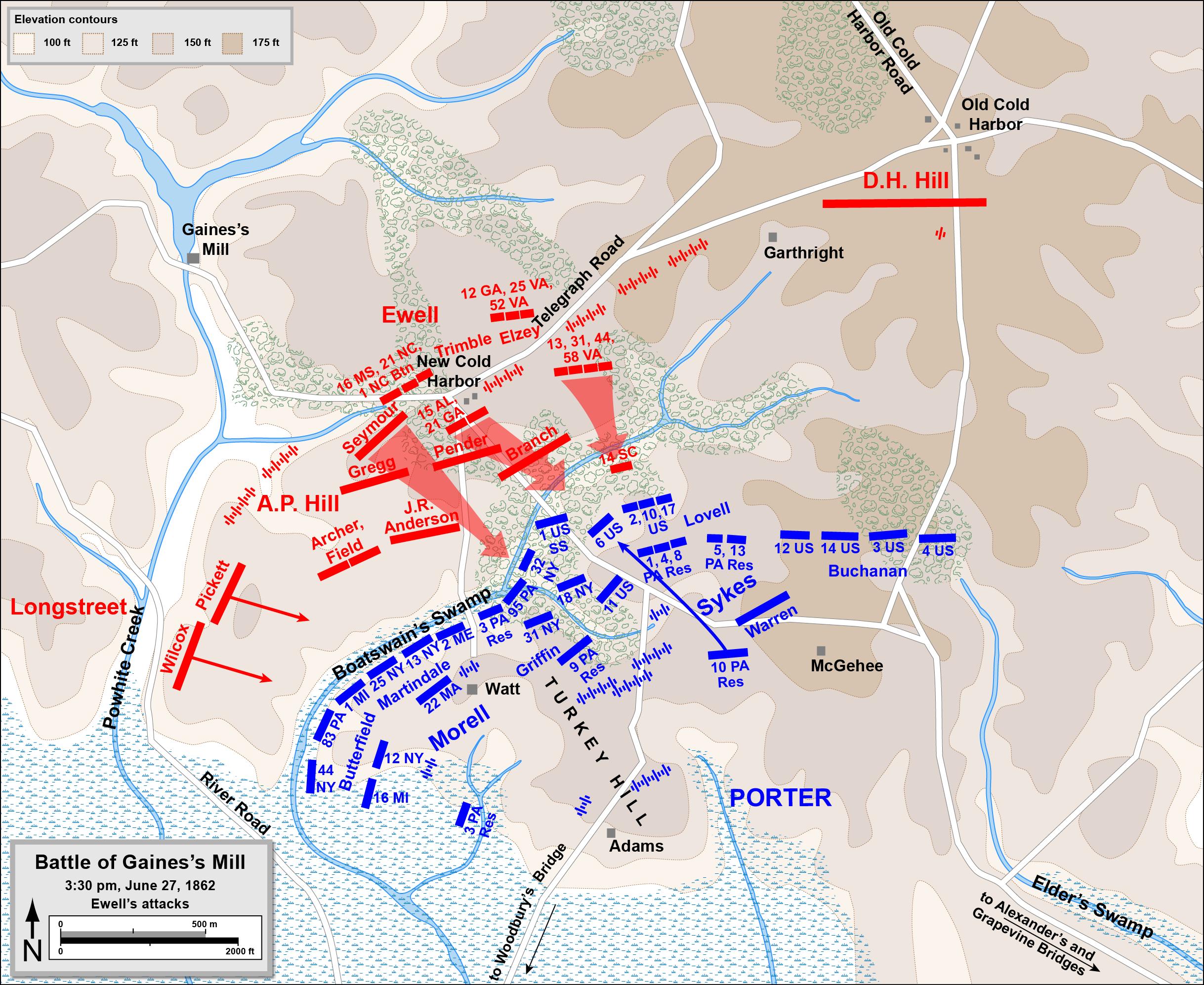 Battle Of Antietam Location Image Information - Us civil war battle map
