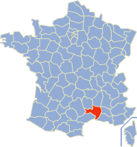 Communes of the Gard department Wikimedia list article