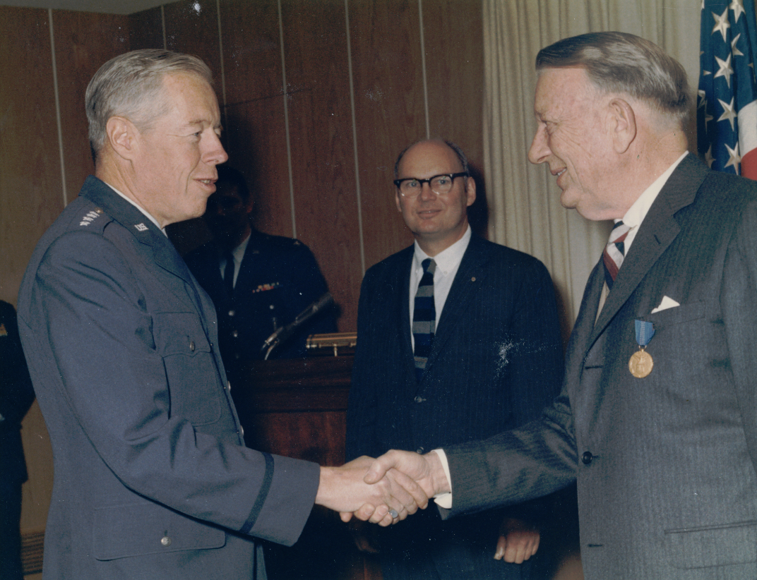 File general john c meyer and hardy cross dillard png for Air force decoration for exceptional civilian service