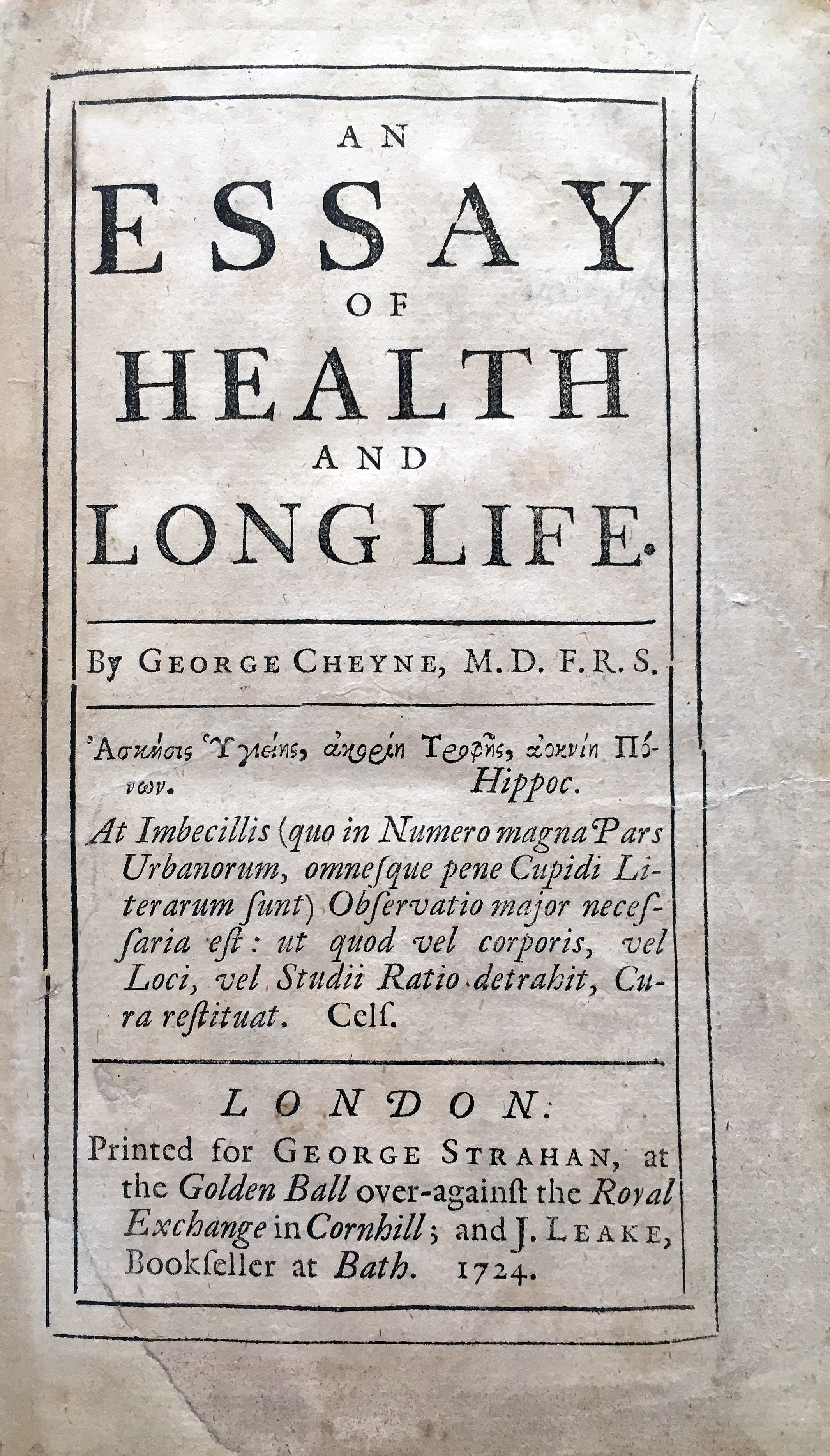 filegeorge cheynes essay of health and long lifejpg  wikimedia  filegeorge cheynes essay of health and long lifejpg