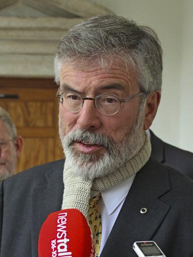 Photo of Gerry Adams