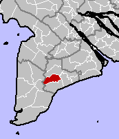 Location in Bạc Liêu Province