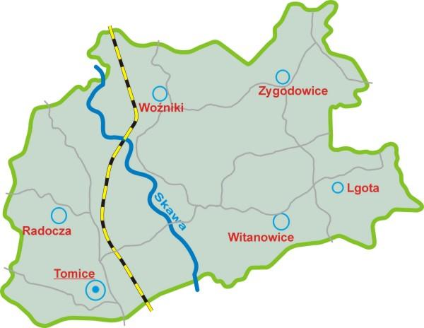 File Gmina Tomice Mapa Konturowa Jpg Wikimedia Commons