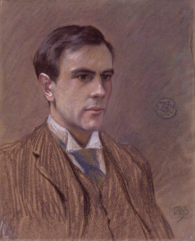 Dickinson in 1893, by [[Roger Fry