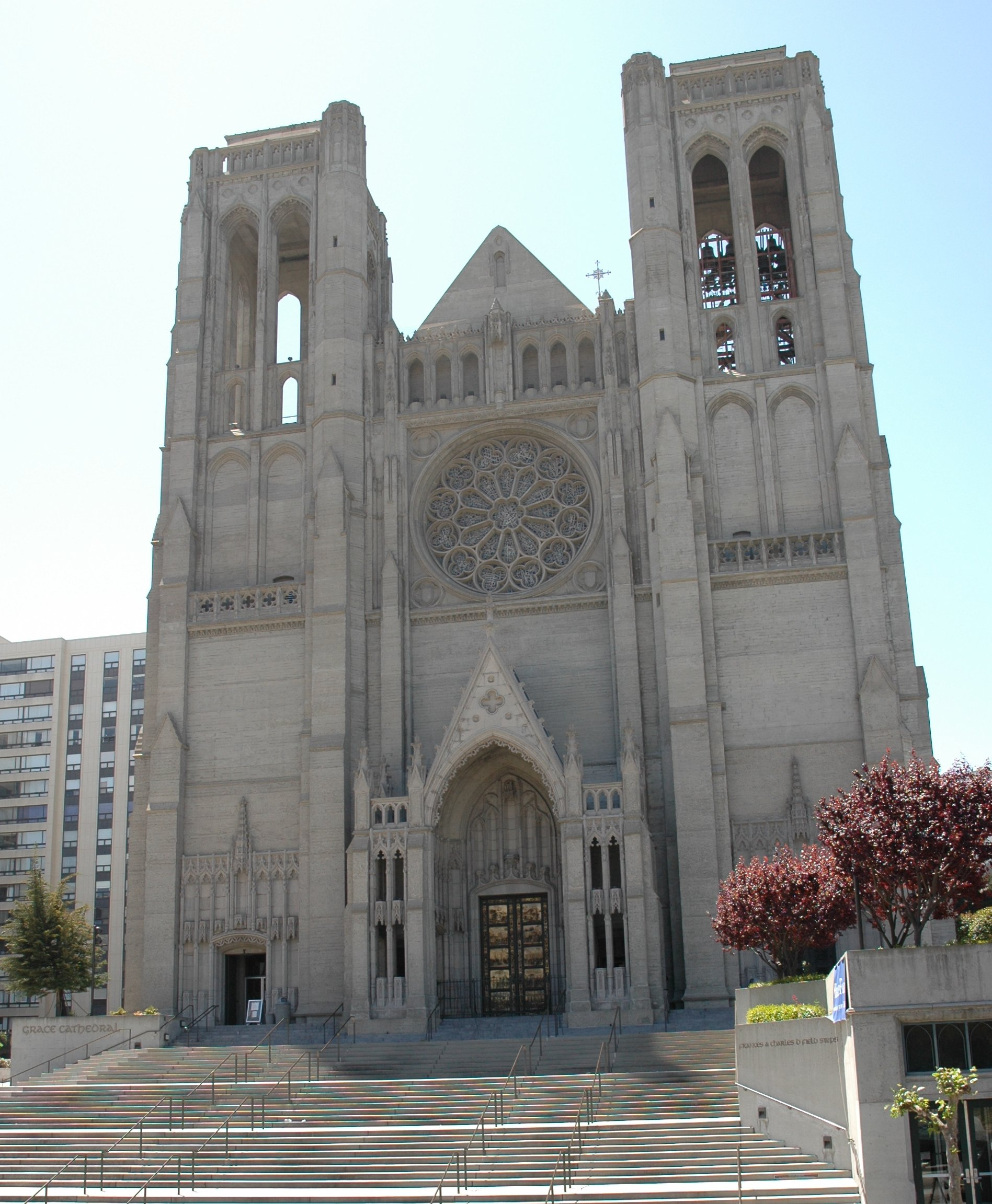 Gothic Church Floor Plan File Grace Cathedral San Francisco Jpg Wikimedia Commons