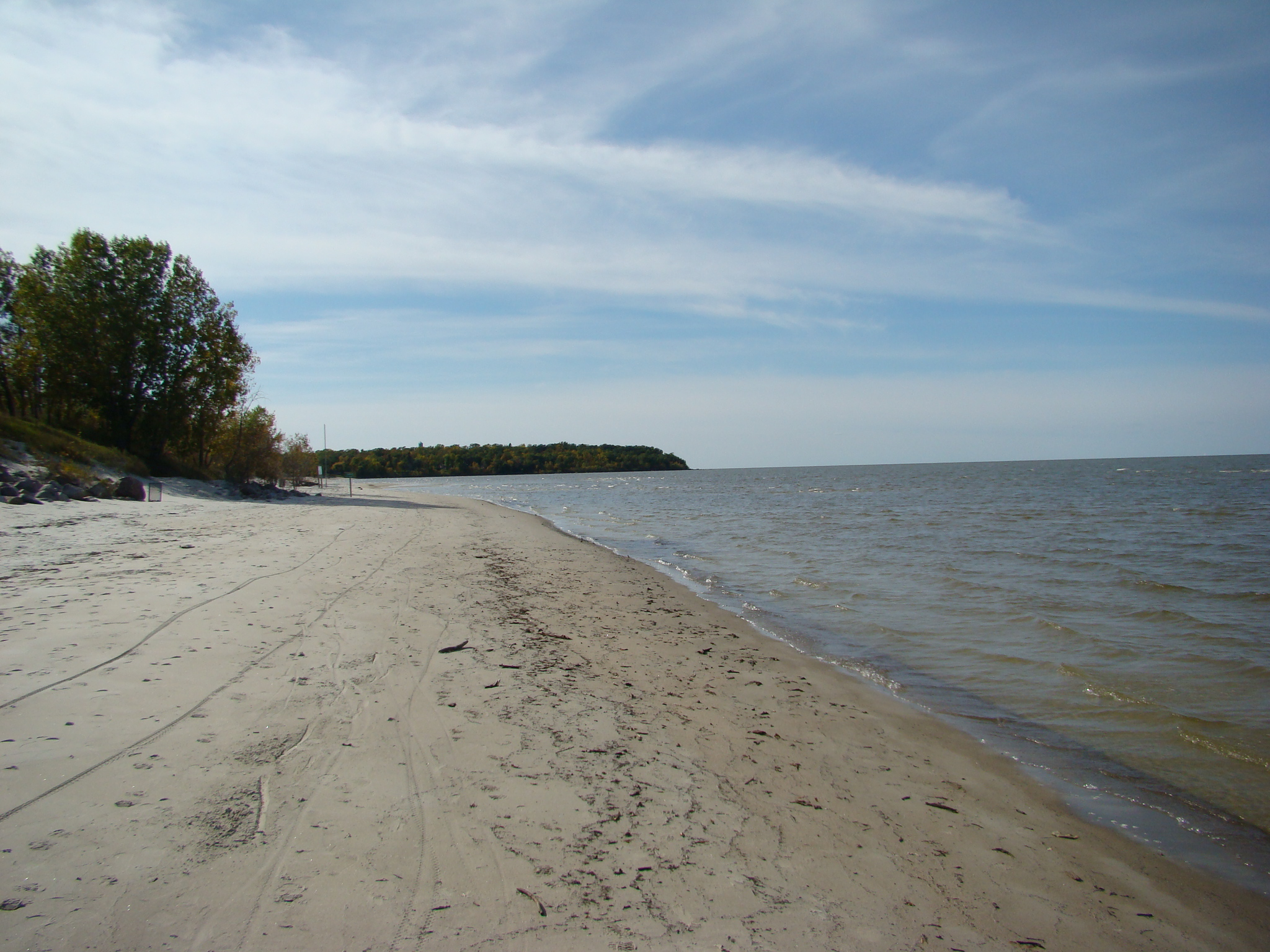 Provincial Park In Lake Winnipeg