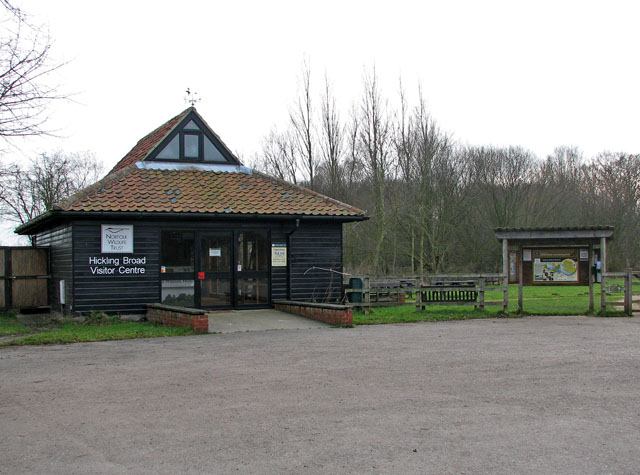 Hickling Broad Visitor Centre - geograph.org.uk - 1106786