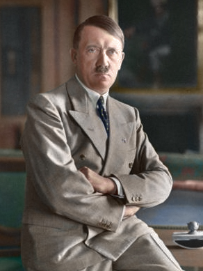 Hitler, recoloured