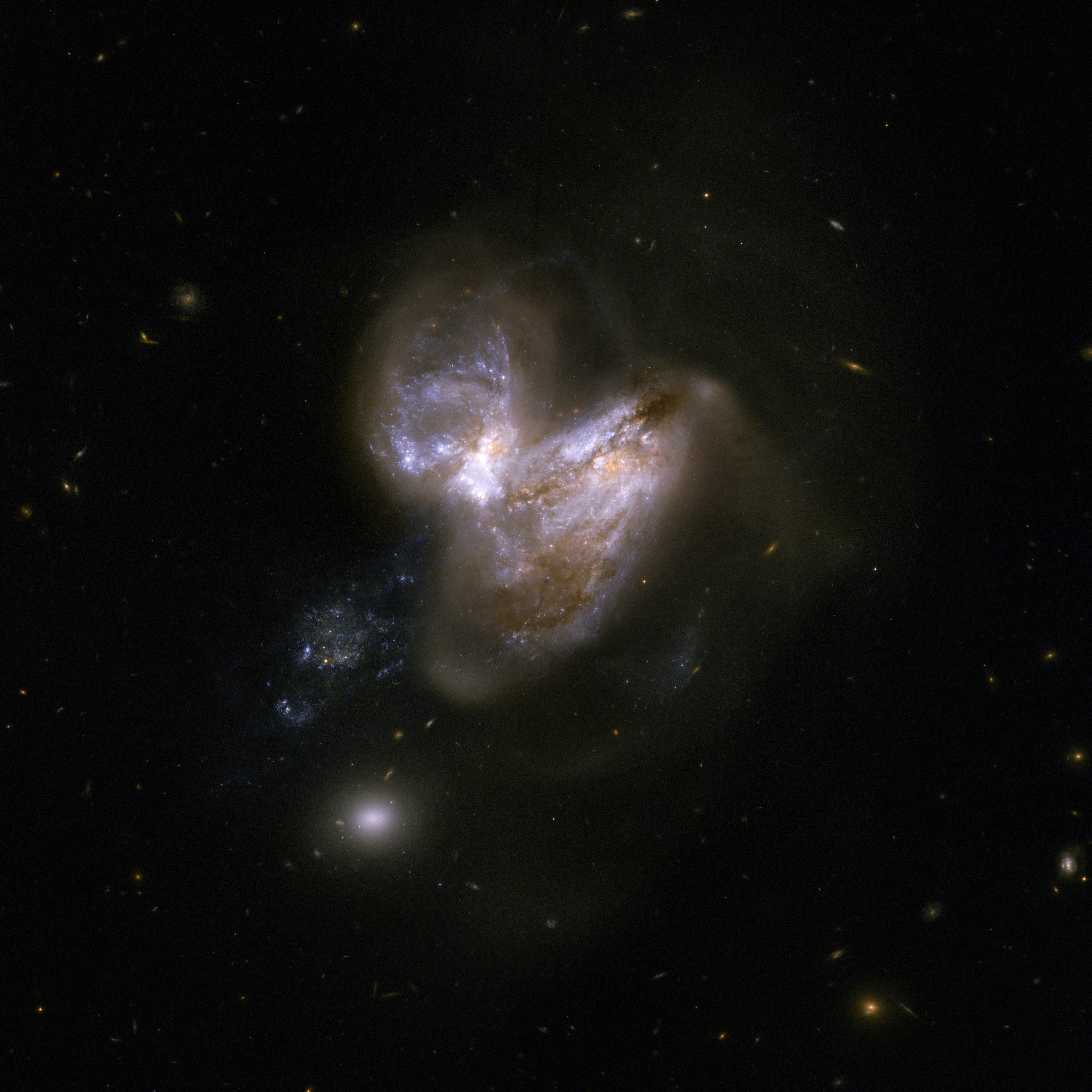 hubble galaxies pair - photo #13