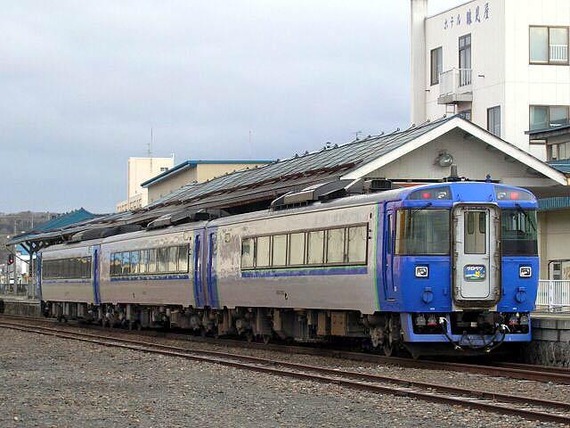 特急「サロベツ」 (2005年5月 / 稚内駅)